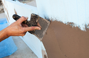 How to Attach Ledger Board to a Stucco Wall